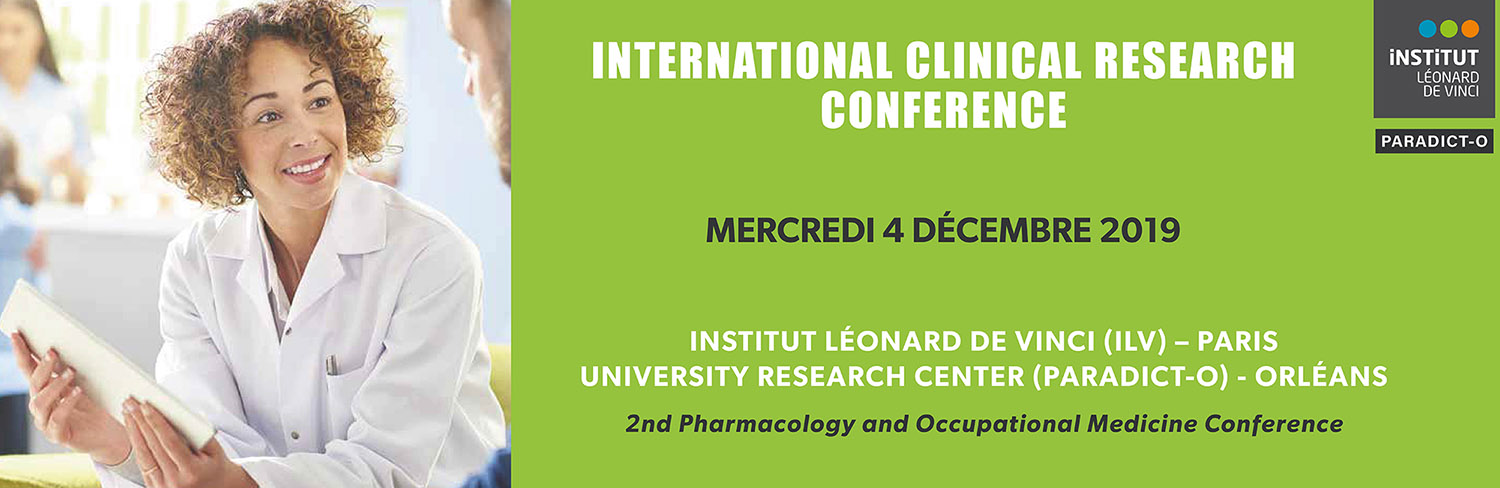 Article l'ILV accueille l'International Clinical Research Conference le 4 décembre 2019